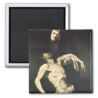 Descent from the Cross 2 Inch Square Magnet
