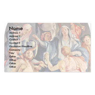 Descent From The Cross By Pontormo, Jacopo (Best Business Card Template
