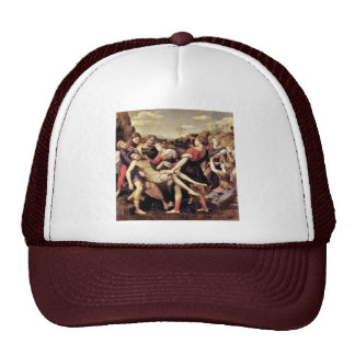 Descent From The Cross By Raffael (Best Quality) Trucker Hat