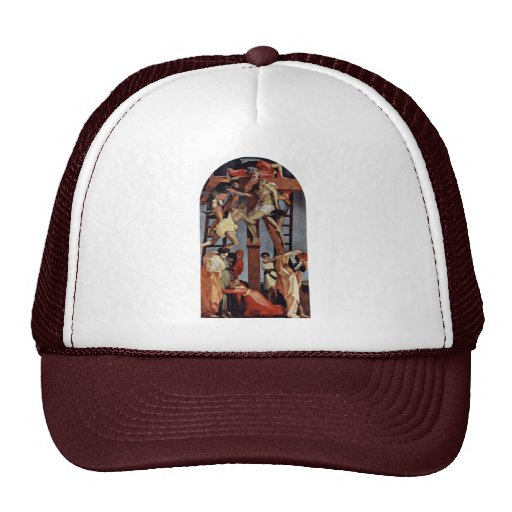 Descent From The Cross By Rosso Fiorentino Hats