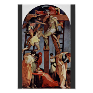 Descent From The Cross By Rosso Fiorentino Poster