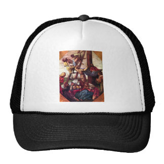 Descent from the Cross by Tintoretto Trucker Hat