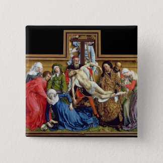 Descent from the Cross, c.1435 Button