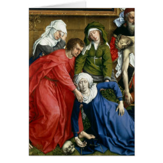 Descent from the Cross, c.1435 Card