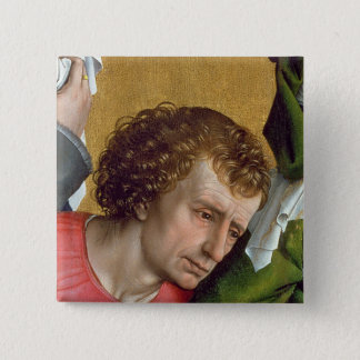 Descent from the Cross, c.1435 Pinback Button