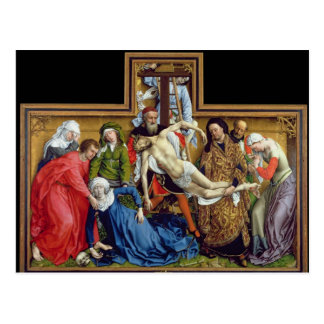 Descent from the Cross, c.1435 Postcard