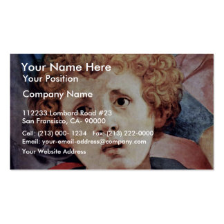 Descent From The Cross Detail By Pontormo Jacopo ( Business Card Template