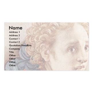 Descent From The Cross Detail By Pontormo Jacopo ( Business Card Templates