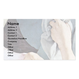 Descent From The Cross Detail By Pontormo Jacopo ( Business Cards