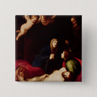 Descent from the Cross Pinback Button
