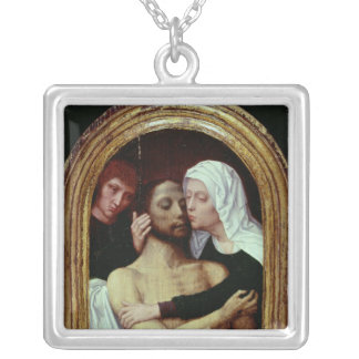 Descent from the Cross Silver Plated Necklace
