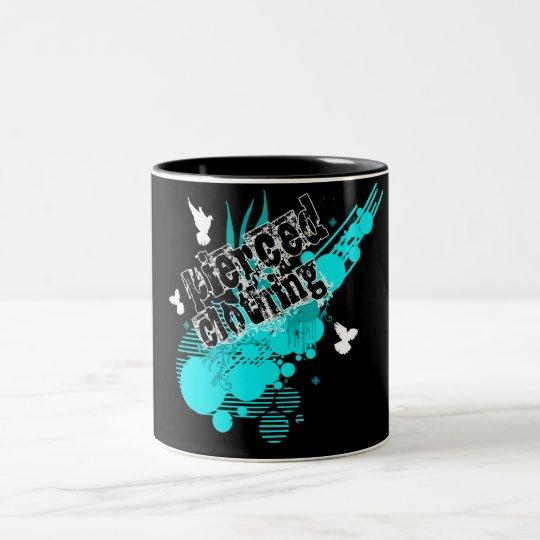 Descent of Peace Two-Tone Coffee Mug