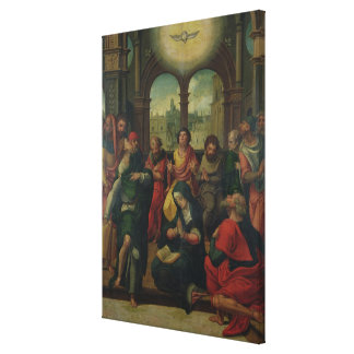 Descent of the Holy Ghost Canvas Print
