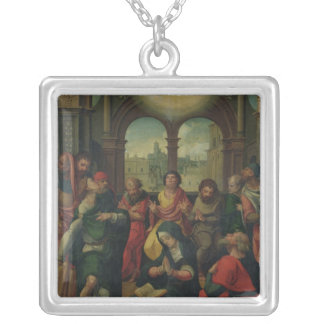 Descent of the Holy Ghost Silver Plated Necklace