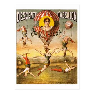 Descente d'Absalon par Miss Stena Postcard