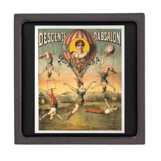 Descente d'Absalon par Miss Stena Vintage Circus Premium Gift Boxes
