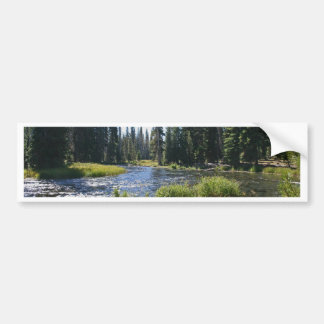 Deschutes River at Little Lava Lake, Oregon Car Bumper Sticker