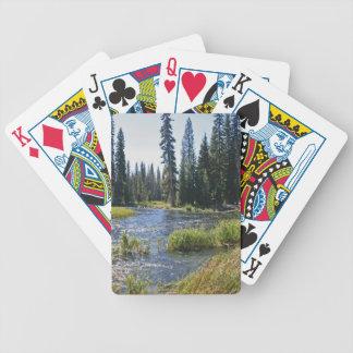 Deschutes River at Little Lava Lake, Oregon Card Deck