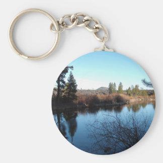 Deschutes River Keychain