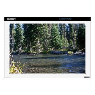 "Deschutes River, Oregon 17"" Laptop Decal"