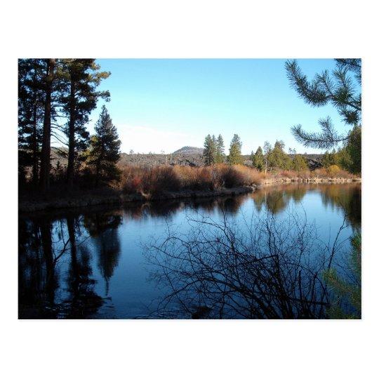 Deschutes River Postcard