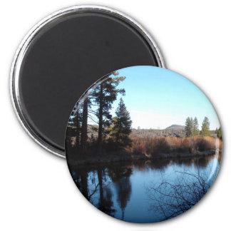 Deschutes River Refrigerator Magnet