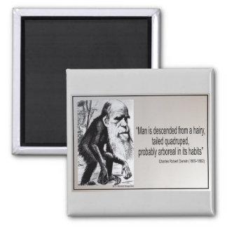 Descienden al hombre del de la cita de Darwin de Imán