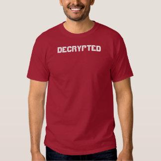 Descifrado - camiseta poleras