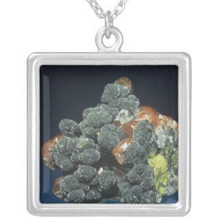 Descloizite on Calcite Jewelry