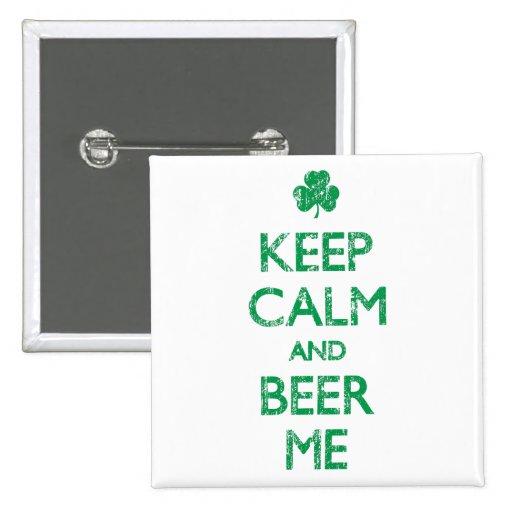 Descolorado guarde la calma y la cerveza yo pins
