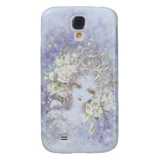 Descolórese a la caja blanca del iPhone 3G/3GS Funda Para Galaxy S4