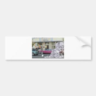 Descomposición del arte etiqueta de parachoque