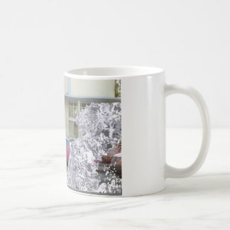 Descomposición del arte taza de café