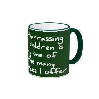Desconcierto de mi taza de los niños