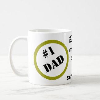 Desconcierto de mi taza de los niños para el papá