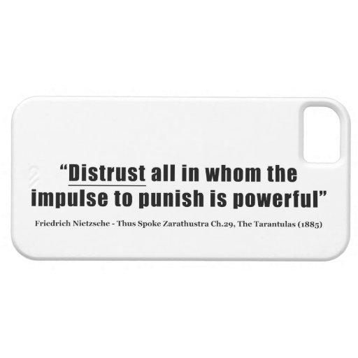 Desconfianza todos que el impulso castigar sea pot iPhone 5 Case-Mate cárcasas