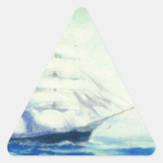 desconocido 2 del destino pegatina triangular