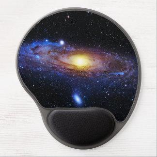 Desconocido de la galaxia alfombrillas con gel