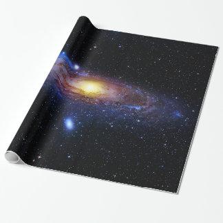 Desconocido de la galaxia papel de regalo