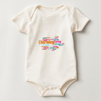 Describe yourself With Adjectives - C Baby Bodysuit