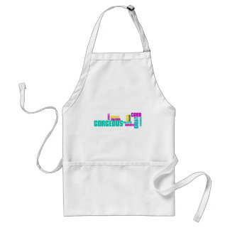 Describe yourself With Adjectives - G Adult Apron