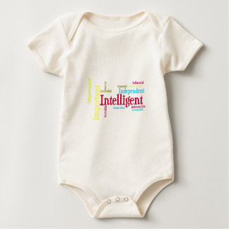 Describe yourself With Adjectives - I Baby Bodysuit