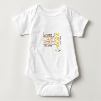 Describe yourself With Adjectives - V Baby Bodysuit