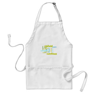 Describe yourself With Adjectives - X Adult Apron