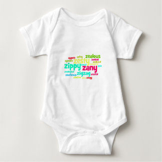 Describe yourself With Adjectives - Z Baby Bodysuit
