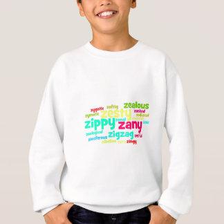 Describe yourself With Adjectives - Z Sweatshirt