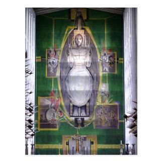 Descripción Cristo en gloria, golpecito de Graham  Tarjeta Postal