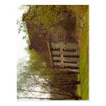 Descripción Cuesmes (Belgique), maison Van Gogh de Postal