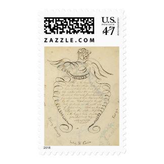 Descripción de Virginia Sello Postal