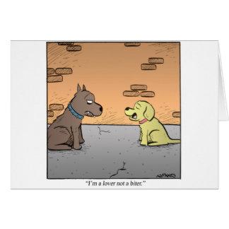 Descripción del perro felicitación